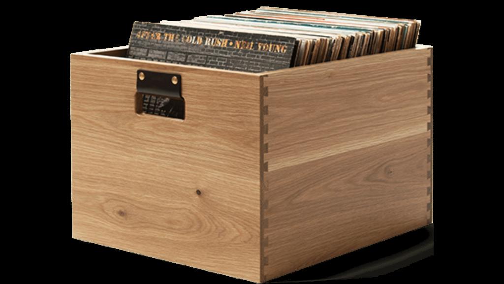 vinyl records storage